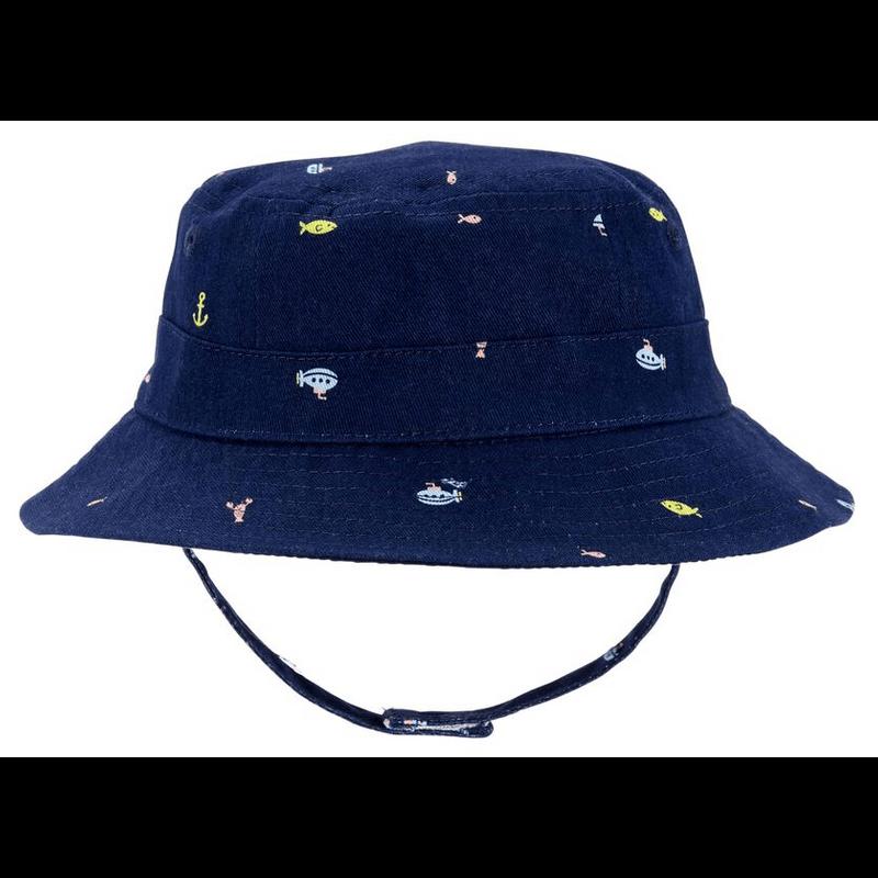 Nidux Sombrero De Playa Azul
